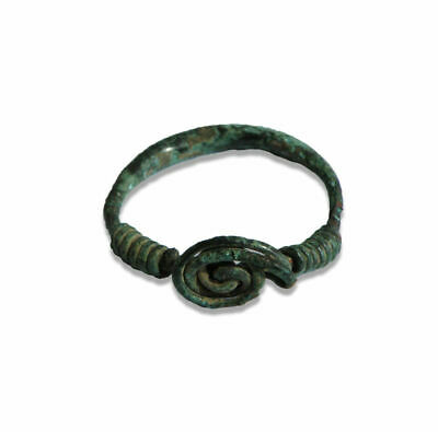Medieval Anglo Saxon bronze ring
