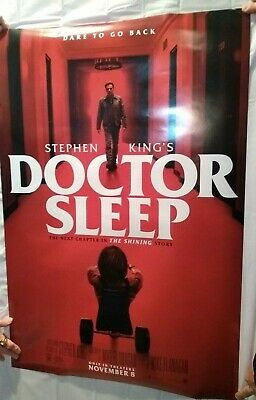 DOCTOR SLEEP (2019) LARGE MOVIE POSTER 27X40 double sided Ewan McGregor