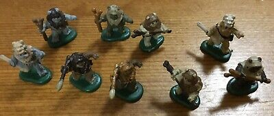 Star Wars Micro Machines Return Of The Jedi Ewok Figures Set,loose,excellent,NEW