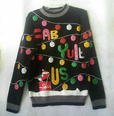 You Look Ugly Today Sz  Xs Ugly Mens Christmas Sweater