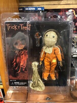 New NECA TOYS Trick R Treat Sam Clothed Horror  Action Figure