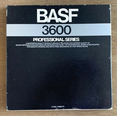 "BASF 3600 Professional Series Metal 10.5"" Aluminum Take Up Reel Tape Audio"