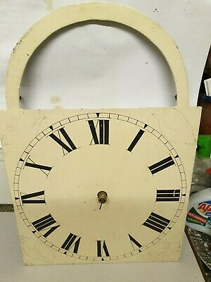 30 HOUR PAINTED DIAL LONGCASE/GRANDFATHER CLOCK MOVEMENT-NO RESERVE!11x11 by16 h