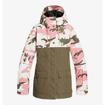 Dettagli su Dc shoes w' DCLA wmn jacket dusty rose 2020 giacca snowboard new donna 10'000 mm