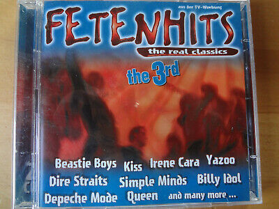 FETENHITS THE REAL CLASSICS the3rd VOL.3 DIE DRITTE PARTYHITS HITS DOPPEL-CD