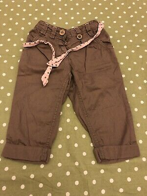 Baby Girls Next Denim Trousers