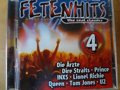 Fetenhits The Real Classics Vol.4 Die Vierte Partyhits Hits Doppel-Cd
