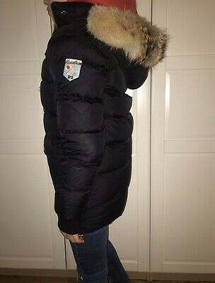 Dsquared Childrens Down Coat With Coyote Fur Age 14