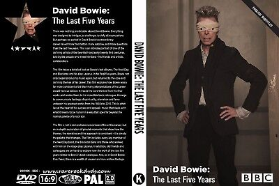 David Bowie. 2017. The Last Five Years. Bbc Documentary. Dvd.