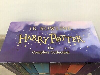 Harry Potter Box Set: Complete Collection by J.K. Rowling, Books 5, 6 & 7 Unread