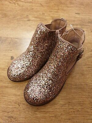 Girls Next Glitter Ankle Boots