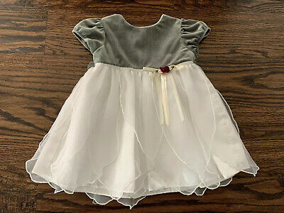 Infant Baby Girls Christmas Party Holiday Dress by George Size 12 Months