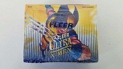 1995 Fleer Ultra X-Men Trading Cards Sealed  Box