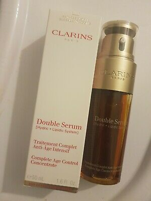 Clarins Double Serum Complete Age Control Concentrate Firming Anti Aging 50ml