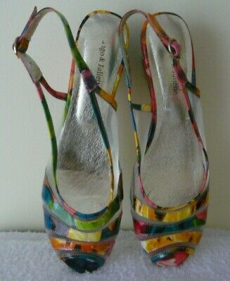 Django & Juliette - Colourful Heels - Size 9