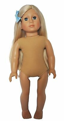 18 Inch Doll Blonde Hair Friend for American Girl Our Generation Journey  Dolls