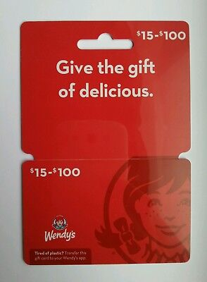 $20 Wendy's Gift Card