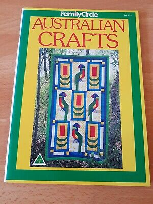 Craft Book: Family Circle Australian Crafts 80pgs