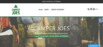 Camper Joes - New Online Store
