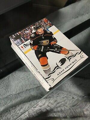 2018-19 Upper Deck Hockey series 1 and 2 base card pick 10 to finish your set