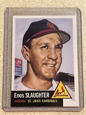 Enos Slaughter 2019 Topps Update Iconic Card Reprints #ICR-40