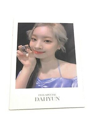TWICE 8th Mini Album DAHYUN Feel Special Official DAHYUN Photocard KPOP DH6