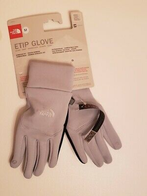 The North Face Women's E-Tip Gloves High Rise Grey