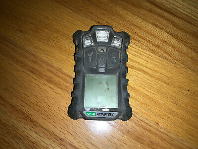 MSA altair 4X  gas Meter Monitor detector, O2,H2S,CO,LEL  Psu USED
