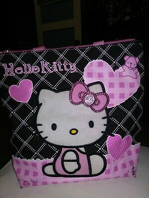 Sanrio Hello Kitty Zipper Tote Bag