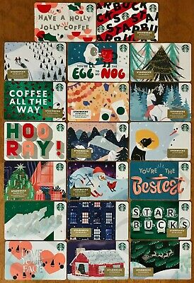 NEW 2019 Starbucks Holiday Gift Cards Lot of 67 (w/ 13 HTF MAG STRIP) 6171 6173