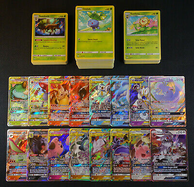 Pokemon Cards Cosmic Eclipse Complete 1-209 Set Common Unc Rare Holo GX NM/M