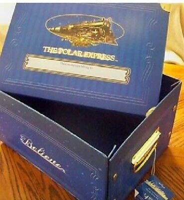 Hallmark The Polar Express Keepsake Storage Box