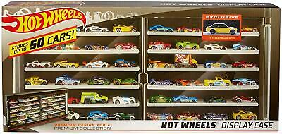 Hot Wheels Premium Collector Case with '71 Datson 510 50-Vehicle Display Mattel
