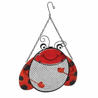 Ladybird Peanut Feeder Add Colour and Fun To Your Garden Suitable Sunflower