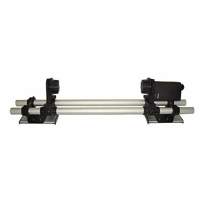 """64"""" Automatic Media Take up Reel System Paper Roller for Mutoh / Mimaki / Roland"""