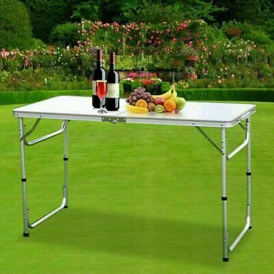 Folding Portable Table Camping Garden Party Picnic Banquet BBQ's Heavy Duty 4FT
