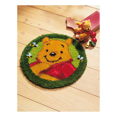 VERVACO|Latch Hook Kit: Shaped Rug: Winnie The Pooh|PN-0014705