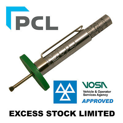 10 Genuine PCL Tyre Tread Gauge -Check cars and vans tyre pressure MOT APPROVED