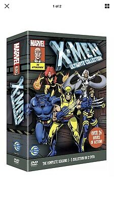 X-Men Ultimate Collection Complete Seasons 1-5 (DVD, 2011, 12-Disc Set)