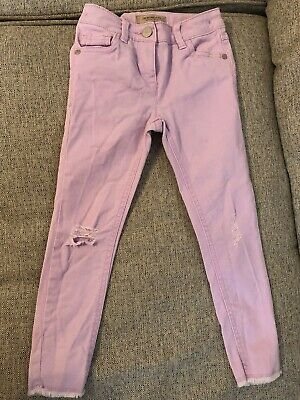 Girls Next Purple Jeans Age 6