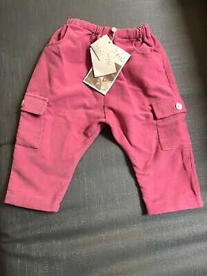 Racheel Riley Girls Pink Trousers Age 12m With Tags