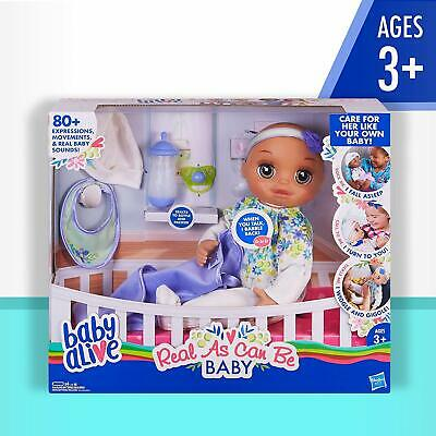 Baby Alive Real As Can Be Baby Brown Sculpted Hair [Doll]