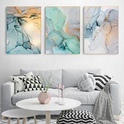 Abstract Home Decorative Hanging Nordic Style Wall Art Canvas Painting Craft