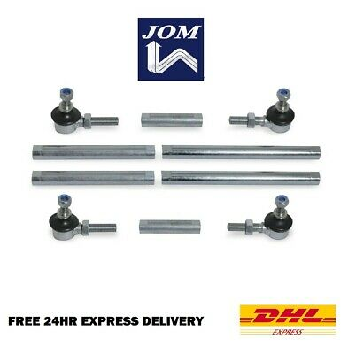 JOM Performance Suspension Anti Roll Bar Drop Links Pair Universal 15-32cm
