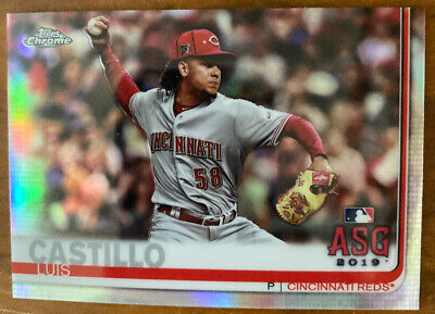 2019 Topps Chrome Update Luis Castillo ASG Refractor # 007/250 Reds (EXCLUSIVE)