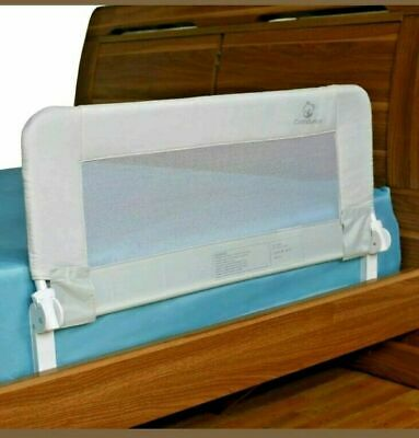 Comfy Bumpy Toddler Bed Rail Baby Safety Guard Bedrail Kids White All Beds NIB