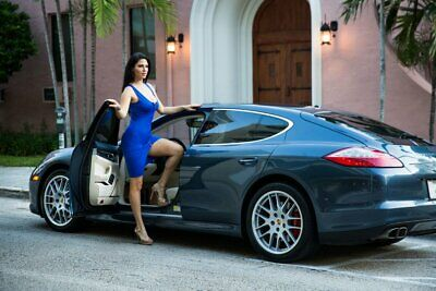 2010 Porsche Panamera Turbo 2010 Porsche Panamera  14,400 Miles Yachting Blue Metallic Sedan 4.8 V8 Turbo 7