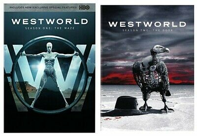 WestWorld Complete Series 1st and 2nd seasons 1 & 2 DVD NEW SEALED