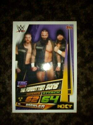 The forgotten sons . Wwe nxt trading Card - slam attax Topps universe