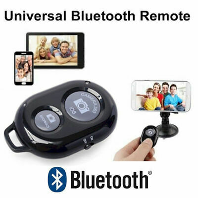 Bluetooth Remote Control Camera Selfie Shutter For iPhone 6 7 8 X SAMSUNG GALAXY